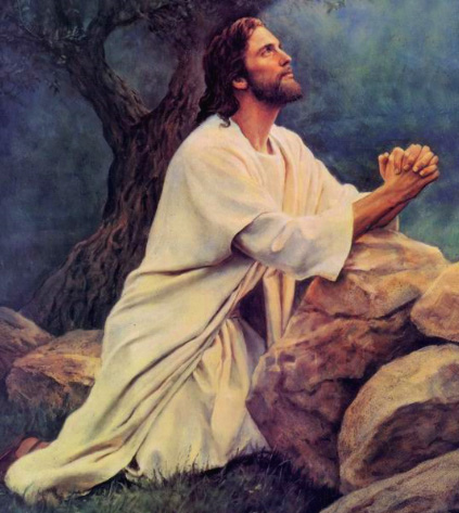301 Moved Permanently Jesus Praying In The Garden Of Gethsemane Painting