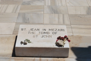 Tombstone of St. John