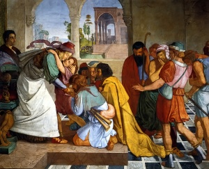 The Reconciliation of Joseph and his Brothers, Peter Cornelius